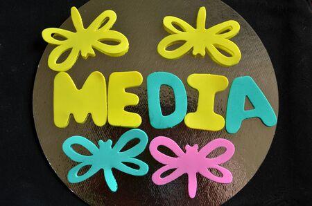 WORD MEDIA Banque d'images