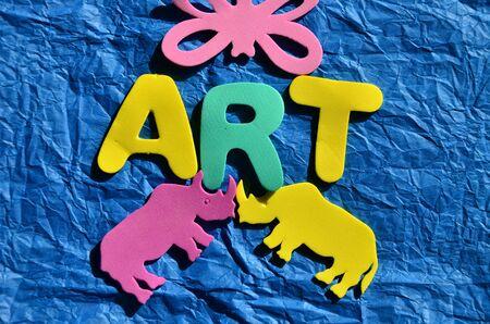 Art word background.