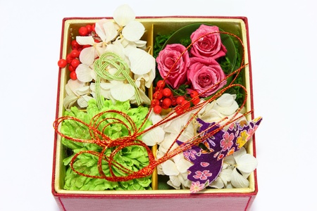japanese�style flower arrangement Standard-Bild