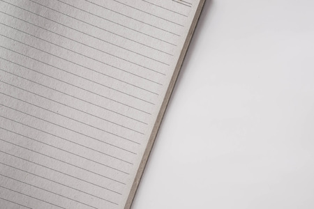 lined: blank lined paper for notes Stock Photo
