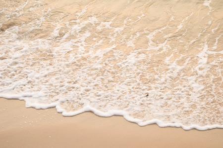 water surf edge on beach