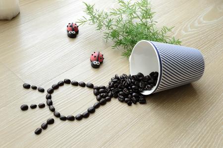 refresh your idea with good coffee 版權商用圖片