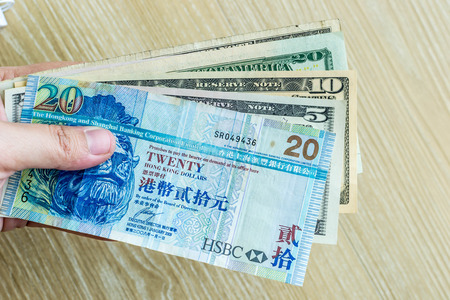 foreign currency: Foreign currency in hand