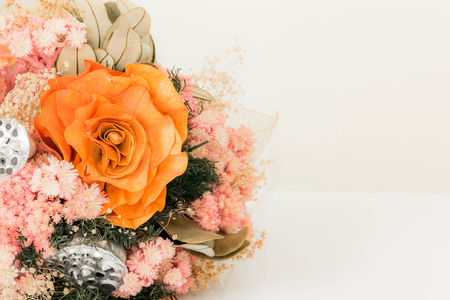 fiori secchi: bellissimo mazzo di fiori secchi Archivio Fotografico