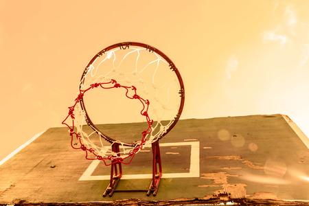 intramural: vintage  basketball hoop