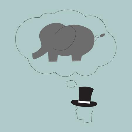 think big: Think Big. Thinking concept