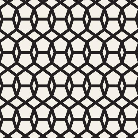 Pattern from geometric shape. Seamless pattern geometric. Pattern vector illustration. Illusztráció