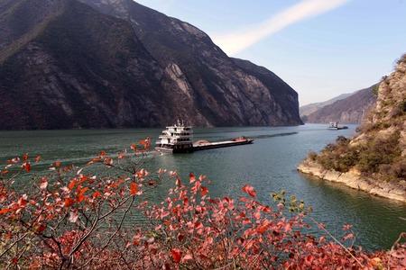 Scenery of autumn, Chongqing Imagens - 34667075