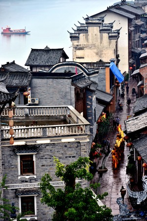 Old buildings in Chongqing