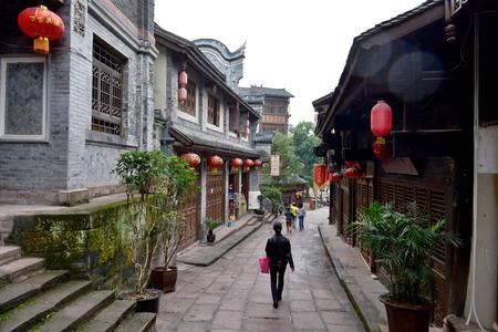old  buildings: Old buildings in Chongqing