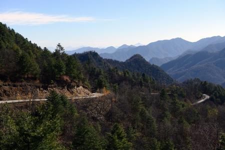 county: Chengkou County, Chongqing Huang scenery
