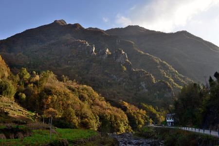 county: Chengkou County, Chongqing Shan scenery
