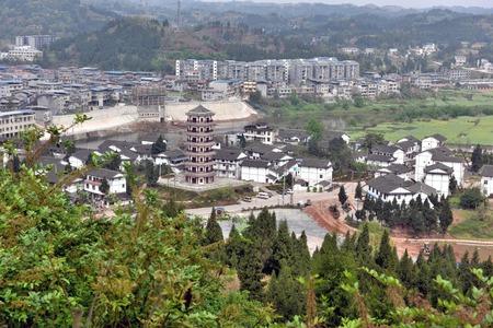 hometown: Chen Tuans hometown in Chongqing Tongnan area scenery