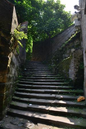tong: Chongqing Jiangnan Tong Bridge Street