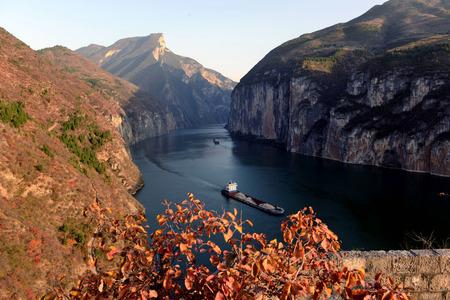 three gorges: Chongqing tourism Chinese - Three Gorges Kuimen