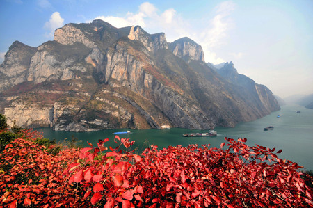 gorge: Chongqing Three Gorges Tourism - Chinese Gorge