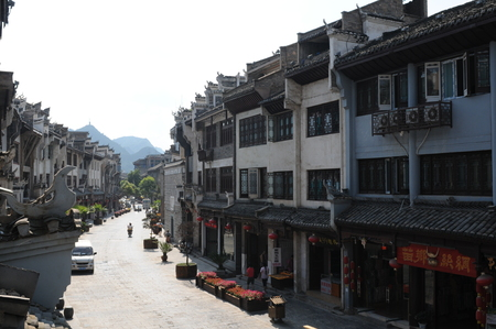 Ancient town, Zhenyuan, Guizhou Redakční