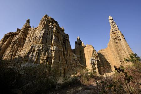 Yunnan Yuanmou Lang Ba Pu Lin Banco de Imagens - 77402744