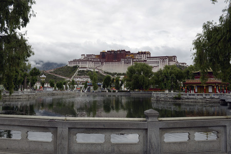 Potala Palace scenery