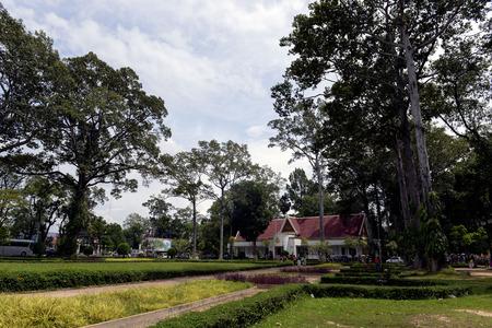 Prince Sihanouk Palace in Siem Reap Province Imagens - 110581475