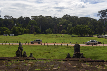 Angkor Wat scenery Imagens - 110609200