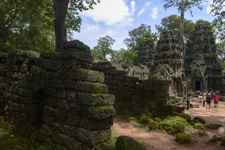 Angkor Thapung Temple Editorial