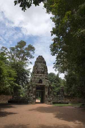 Angkor Thapung Temple Stock Photo
