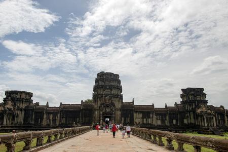 Angkor wat scenery Imagens - 110609679