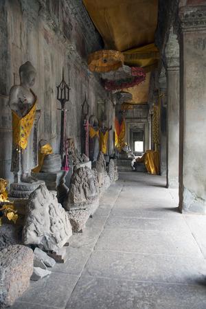 Angkor wwat scenery Imagens - 110609879