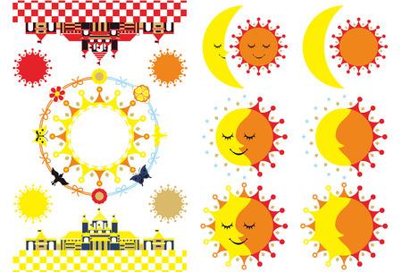 城月太陽 写真素材 - 24249420