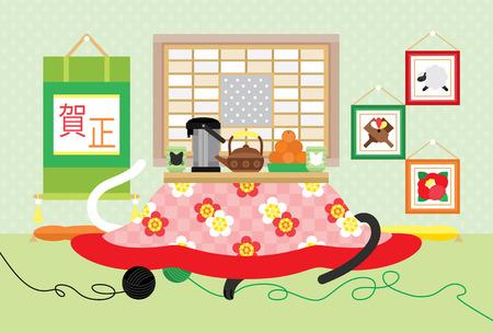 kotatsu in Japanese-style room
