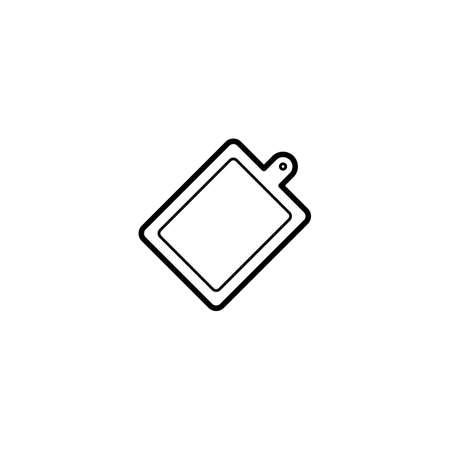 cutting board, chopping board icon vector illustration Illusztráció