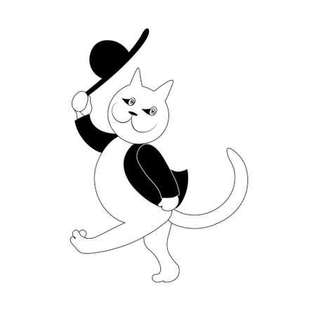 Chubby tuxedo cat clipart Cat cartoon google search cat cartoon images cat  character | Arman.anayelizavalacitycouncil.com
