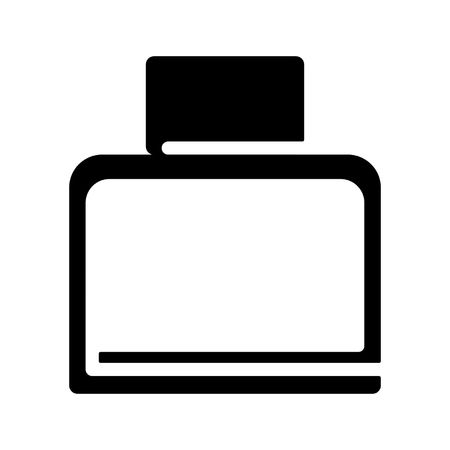 Flacon, bottle icon.