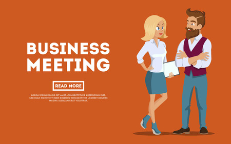 Young professional team. Business people planning meeting, conference concept. Business meeting young employees. Teamwork, brainstorm. Corporate teamwork collaboration concept on white background.