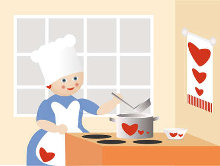 The cook of love.