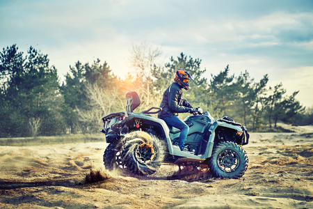 Cross-Country-Quad-Rennen, Extremsport