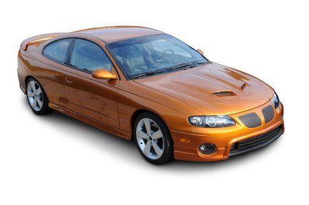 Coupe American Sports Car Standard-Bild - 4310920