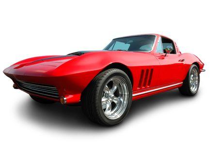 classic car: American Sports Car - 1966 Editorial