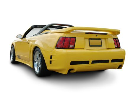 American Muscle Car Rear