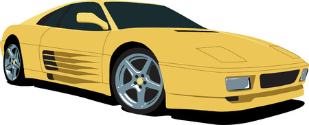 vector tyre: Italian Sports Car