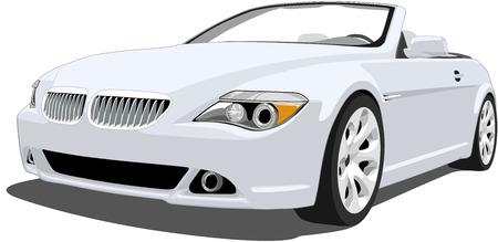scheinwerfer: Deutsch Luxus-Cabrio