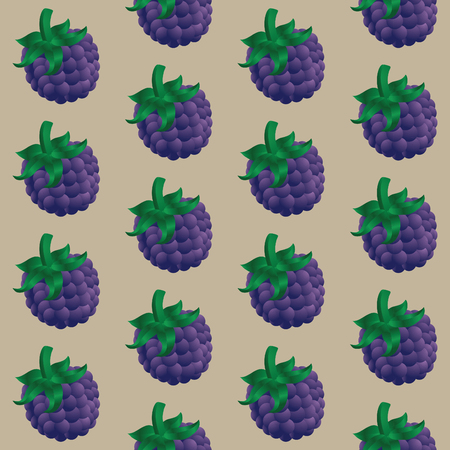 Colorful 3d Background Blackberry Icon Vector Illustration