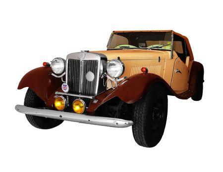 old car: Vintage British Car