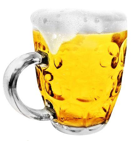 Glass Beer Mug photo