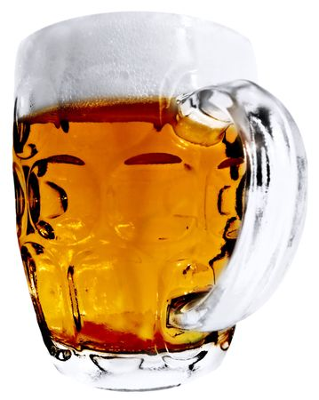 Large Beer Mug Stock Photo - 5562758