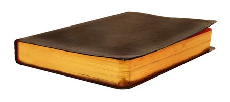 Blank Leather Book