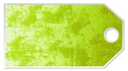 Green Price Tag Reklamní fotografie