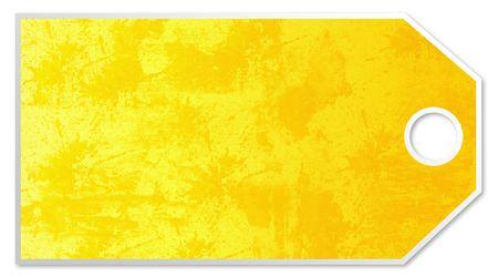Yellow Price tag photo