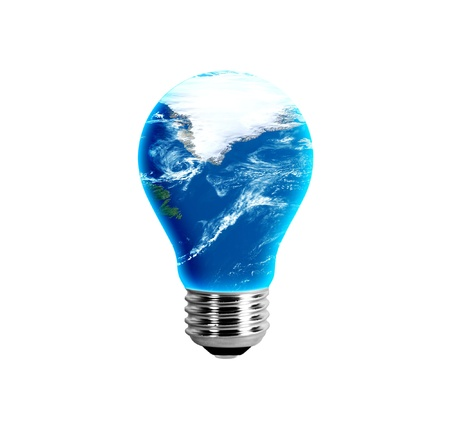 Greenland in a light bulb